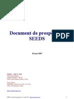 Document de prospective SEEDS--matériaux et dispositif pour l'électronique de puissance