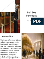 Bell Boy Functions