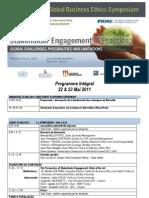 Programme Integral Symposium Participants