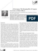 Ethical Governance- The Emerging Role of Company Secretaries as Ethics Officers by Joffy George and Prof. (Dr.) K.sasikumar 3