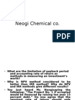 Neogi Chemical Co