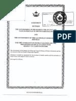 DTC agreement between Brunei Darussalam and Lao People's Democratic Republic