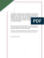 DTC agreement between Brunei Darussalam and Hong Kong, China