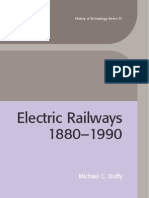 Electric Railways 1880 1990