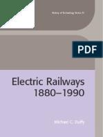 Electric Railways 1880 1990