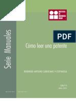 Como Leer Una Patente