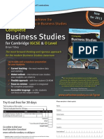 Complete Business Studies for Cambridge IGCSE