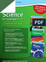 Complete Science for Cambridge IGCSE