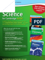 Complete Science for Cambridge IGCSE