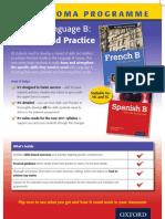 IB Language Skills flier