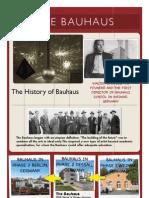 Bauhaus Presentation Layout