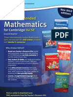 Rayner's Core & Extended Mathematics for Cambridge IGCSE