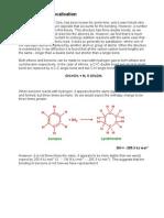 Benzene and Delocalisation