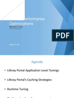 Liferay+Performance+Optimization Michael+Han