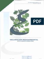 Declaración medioambiental 2009 validada
