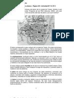 Comentario Del Plano Urbano de Toledo