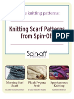 3 Free Scarf Knitting Patterns
