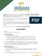 Urban2011_regolamento_ITA