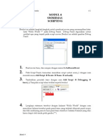 Modul 4 Swishmax Scripting