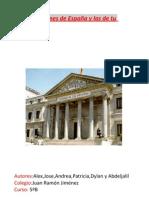 las instituciones de España y las de tu comunidad