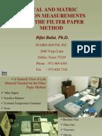 FilterPapSuctMeasDemonstrtn