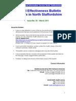 Clinical Effectiveness Bulletin no. 51 April 2011