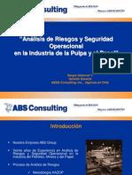ANALISE DE RISCO E SEGURANÇA OPERACIONAL