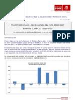 Datos Paro y Empleo Abril 2011 Psoe Almeria