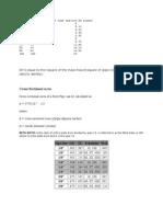 Flow Calculation