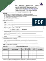 New (2)SLP Application Form (2)