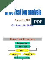 Drive Test Logs Analysis