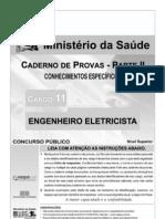 Ms 2010 Cespe Unb Engenheiro Eletricista Prova
