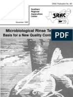 Microbiological Rinse Technique Basis for a New Quality Control Program