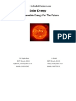 Solar Energy1