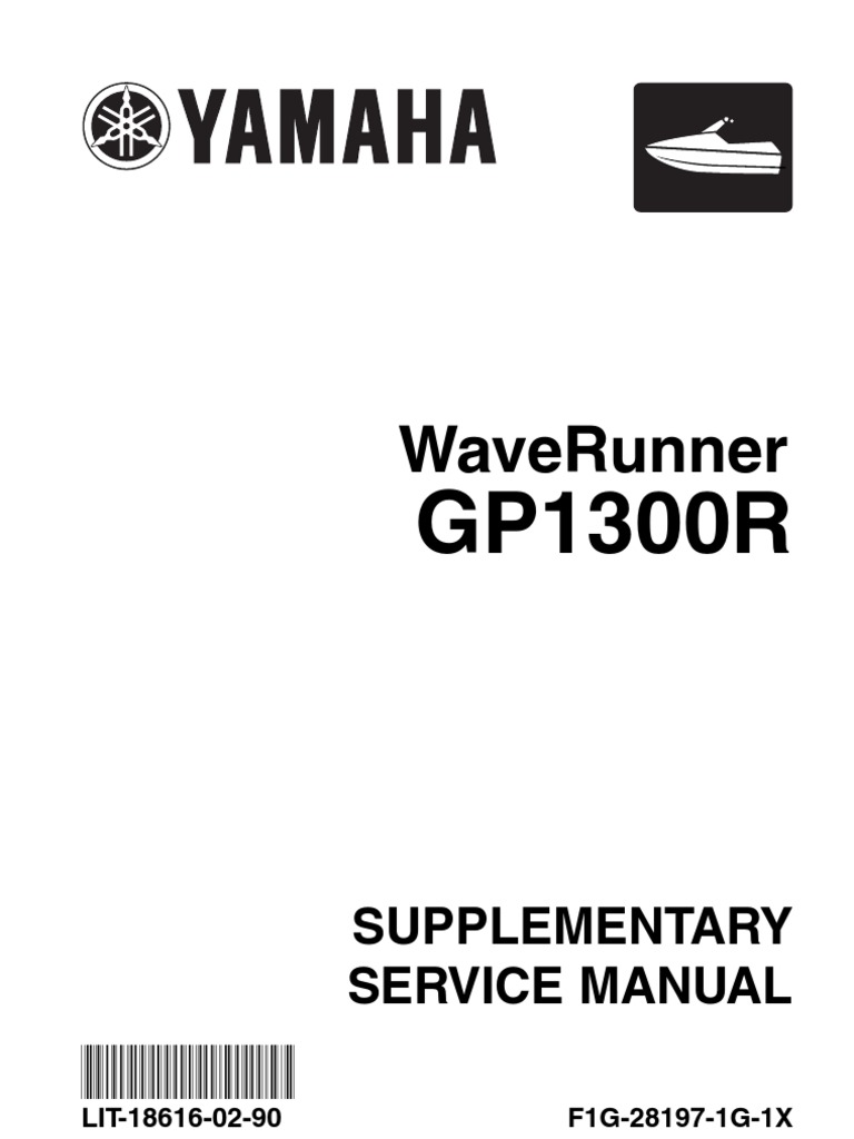 Yamaha Gp1300r Service Manual Jet Engine Screw Digital Tachometer Wiring Diagram Free Download