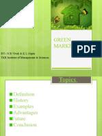 Green Marketing by Gupta