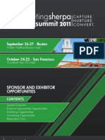 B2B Summit 2011 Sponsorship Package