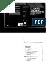 Language Teaching Methodology - Nunan
