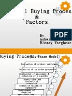 Industrial Buying Process  & Factors