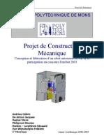 projet de constuction mécanique(robot)
