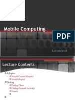 Lecture Adapters, Internet, Dialogs)