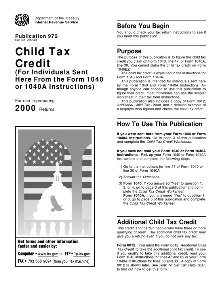 Worksheets irs child tax credit worksheet citysalvageanddesign worksheets irs child tax credit worksheet us internal revenue service p972 2000 irs tax forms service falaconquin