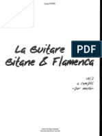 FLAMENCO-PARTITURAS-Claude Worms - La Guitare Gitane & Flamenca Vol 2