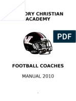 Coaches Manual 2010