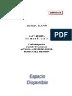 Llanos, Alfredo - La Filosofía de Heráclito