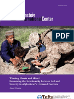 Winning Hearts and Minds? Examining the Relationship between Aid and Security in Afghanistan's Helmand Province