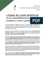Comunicado CPS Lagos Nº3.2011