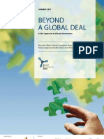 Beyond a Global Deal – A UN+ Approach to Climate Governance