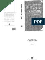 Ong Walter - Oralidad Y Escritura1