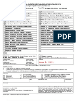 Michigan Medicaid Policy Final Draft Review Effective July1, 2011